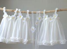 Newborn Summer Dress, Photography Prop Romance Dress, Baby Summer Dress, Baby Dress, Ivory Chiffon Sun Dress, Photography Prop, UK Seller