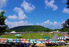Grandfather Mountain Highland Games and Gathering of Scottish Clans in the mountains of NC