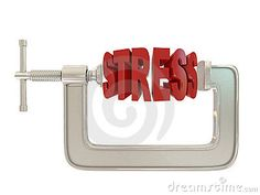 G clamp and text Stress