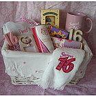Sweet 16 gift basket