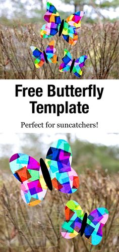 Our free printable butterfly template is perfect for butterfly crafts including suncatchers, simple paper crafts, painting, and more! Butterfly Games, Printable Butterfly, Paper Butterfly Crafts, Butterfly Mobile, Butterfly Template, Leaf Template, Easy Paper Crafts, Paper Butterflies, Owl Templates