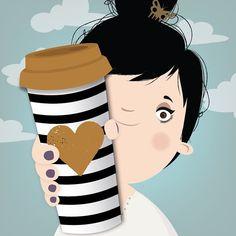 ☕️ #cafe #coffee #happy