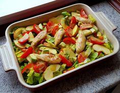 Madlaboratoriet: Grøn salat med stegt kylling og honning-sennepsdressing