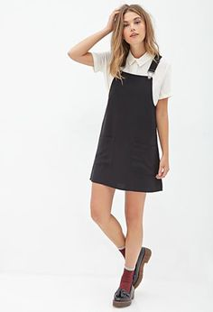 Overall Dress | FOREVER21 - 2000100503 - http://AmericasMall.com/categories/juniors-teens.html