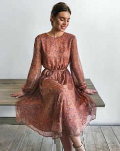 30 Beautiful and Modest Dresses for Elegant Ladies — Classy Outfit Ideas Modest Dresses, Modest Outfits, Simple Dresses, Classy Outfits, Modest Fashion, Elegant Dresses, Pretty Dresses, Beautiful Dresses, Dress Outfits