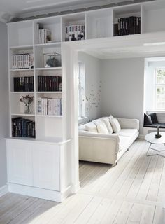 Velkommen i stuen - ROSEMILLE Living Room Designs, Living Room Decor, Interior Architecture, Interior Design, Living Comedor, Front Rooms, Cozy Place, White Rooms, New Room