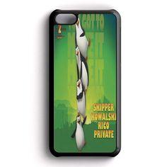 Funny Penguins Of Madagascar iPhone 5C Case