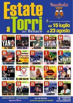 Ecco il calendario con tutti gli appuntamenti in programma a Torri del Benaco dal 15 luglio al 23 agosto 2015 @gardaconcierge