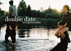 Have an amazing double date(: