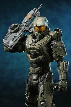 Master Chief And Cortana, Halo Master Chief, Halo Game, Halo 3, Halo Figures, Action Figures, John 117, Halo Mega Bloks, Halo Spartan