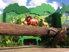 Lion King Section of Art of Animation Resort Simba Pumba and Timone