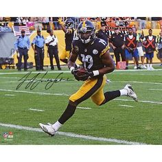520cf841890 Autographed Pittsburgh Steelers JuJu Smith-Schuster Fanatics Authentic 8