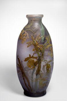 """Vase"" by Emil Gallé via DailyArt app, your daily dose of art getdailyart.com"