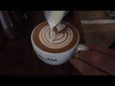 Latte Art techniques & Barista Skills - YouTube