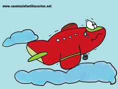 Cuentos infantiles - El avion que tenia miedo a volar