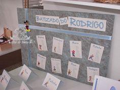 Baú de Ideias: Batizado (Lembranças, Livros de Honra, Marcadores de Mesas, etc)
