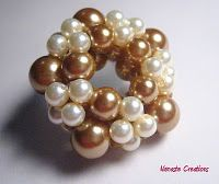 The Asteriod focal beaded bead, love!
