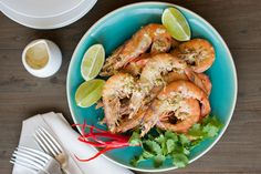 Aussie prawns marinated in Malaysian aromatics then barbequed to smoky perfection, by Jackie M. Serves 2 as main, 4 at a banquet or bbq. Prawn, Shrimp, Fusion Food, Australia Day, Banquet, My Recipes, Bbq, Meat, Australia Day Date