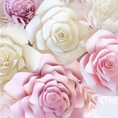 Paper Flower Wall paper flower backdrop giant paper от PaperFlora