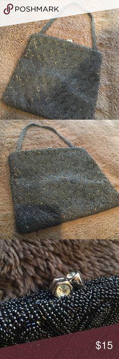 Beaded Handbag by Walborg Beautiful beaded handbag made in West Germany Bags Mini Bags