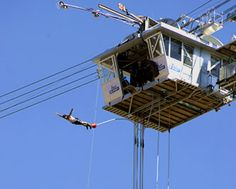 """Nevis Bungy - if your motto is """"Go big or go home"""", then this is for you!"""