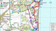 Dunwich Heath walk (Suffolk)