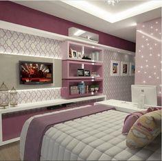45 creative diy farmhouse home decor ideas and inspirations Dream Rooms, Dream Bedroom, Home Bedroom, Bedroom Decor, Bedrooms, Bedroom Ideas, My Room, Girl Room, Girl Bedroom Designs