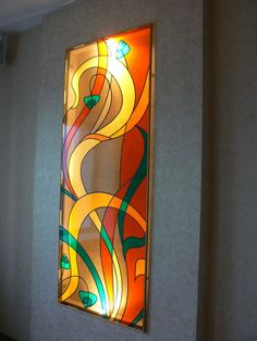 Image may contain: indoor – Verre et de vitrailes Modern Stained Glass, Stained Glass Light, Stained Glass Paint, Stained Glass Flowers, Stained Glass Designs, Stained Glass Panels, Stained Glass Projects, Stained Glass Patterns, Mosaic Glass