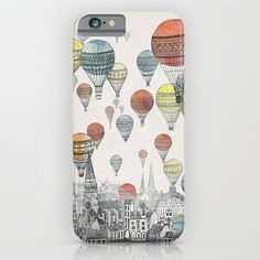 Voyages+over+Edinburgh+iPhone+&+iPod+Case+by+David+Fleck+-+$35.00