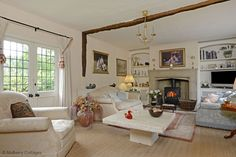 Shabby and Charming: A beautiful country house in 'Hertfordshire
