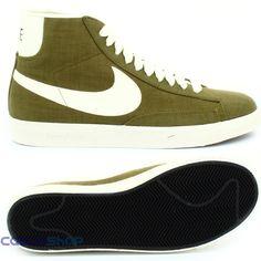 02ca8aa259ad7 Nike - Blazer MID PRM VNTG Canvas Verde Militare