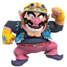 Wario as he appears in Super Smash Bros. for Nintendo 3DS / Wii U.