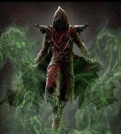 Ermac concept art in Mortal Kombat X