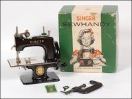 1950s Singer Sew Handy Child's Sewing Machine with original Box