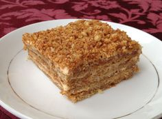Honey Cake Recipe - Medovník - Czech Cookbook - Video Recipes in English - US Measurements - US Ingredients