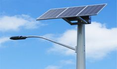 Solar Street light is the better alternative option to save the non renewable energy. #solarstreetlightpoleinindia