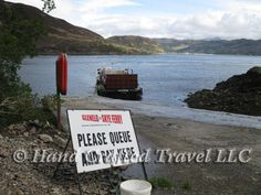 Travel Picture: Day 145: Cross from Skye to mainland Scotland the traditional way, with the Glenelg ferry. http://www.handcraftedtravel.com/blog.php?id=7182580455147715543