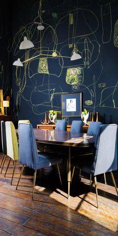 Pierre Frey, New Interior Design, Interior Decorating, Gothic Kitchen, Original Wallpaper, Center Table, Jaba, Eclectic Decor, Interior Lighting