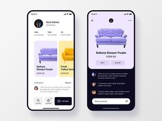 Interfacelab в Instagram: «Furniture Social App Concept by @christvizcarra . . . Follow us :point_right: @interfacelab to get creative UI/UX inspiration . . . #web…»