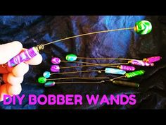 Dowsing Bobber Wand! Polymer Clay and Wire - YouTube Make Your Own, Make It Yourself, How To Make, Bobber, Wands, Polymer Clay, Objects, Arts And Crafts, Wire