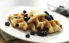 My Best Paleo Waffle Recipe--use Stevia or Xylitol instead of maple syrup