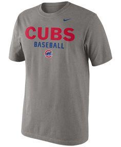 04c28f2e9213 Nike Men s Chicago Cubs Practice T-Shirt   Reviews - Sports Fan Shop By  Lids - Men - Macy s