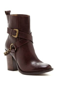 A.B.S. Desiree Chained Slip-On Bootie ❤