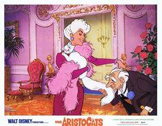 Duchess, Madame Adelaide Bonfamille and Georges Hautecourt - The AristoCats (1970)