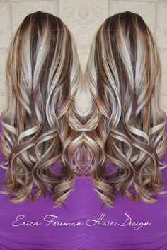High contrast Balayage done by Erica at Ensemble - Yelp