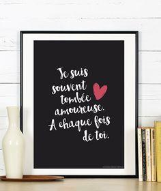 Affiche Collection St Valentin  a télécharger par RGB4YOU sur Etsy