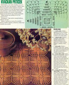 Patterns and motifs: Crocheted motif no. 210