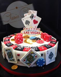 If You Like It Sweet This Is Your Treat Las Vegas Casino Cake