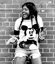 Azealia Banks in her '212' video. Love her outfit and this song is such a dance party.