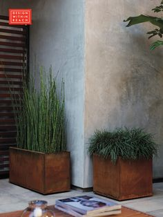 Planterworx Arena Planters designed by Randy Rollner, Charles Constantine and Chris Williams.
